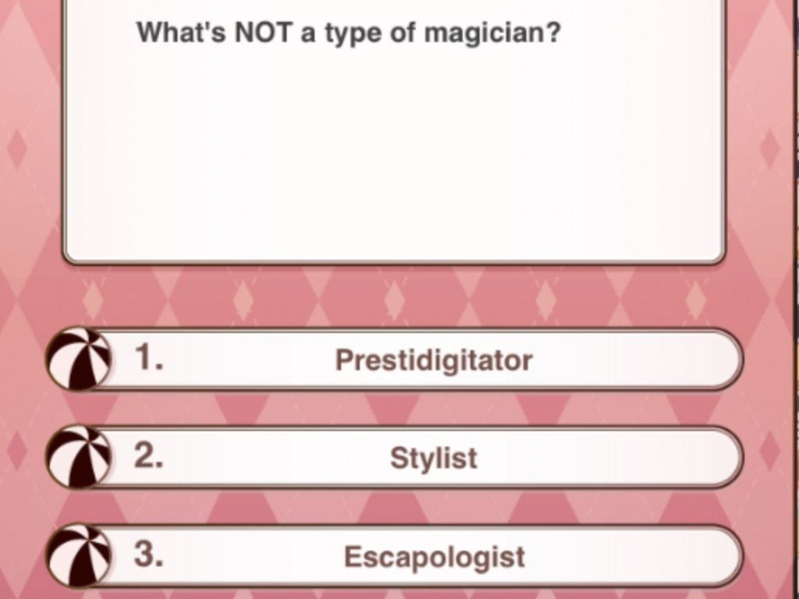 Love Nikki' Magic Circus Event Guide: Quiz Answers and Stage