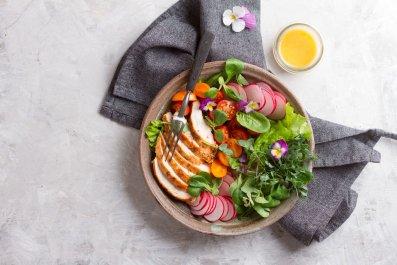 Food-plate-salad-stock