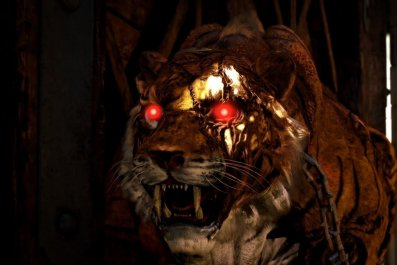 Black Ops 4 Zombie tiger