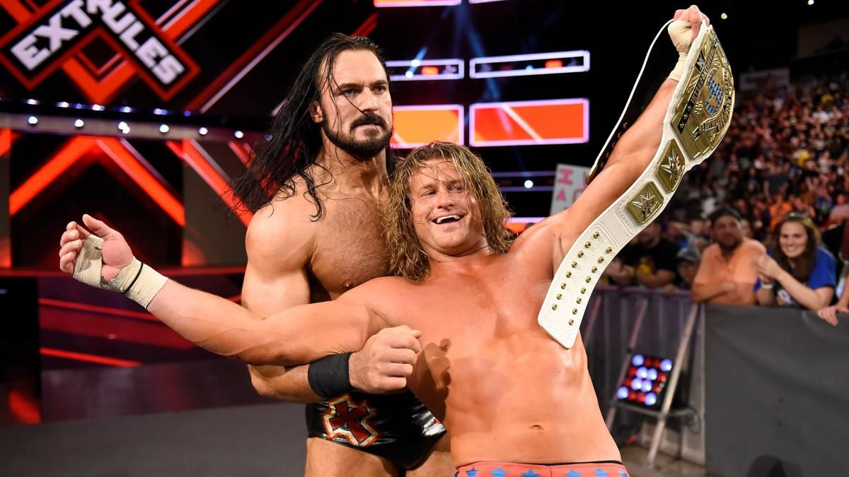 dolph ziggle drew mcintyre extreme rules 2018