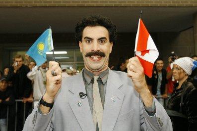 Sacha Baron Cohen Borat