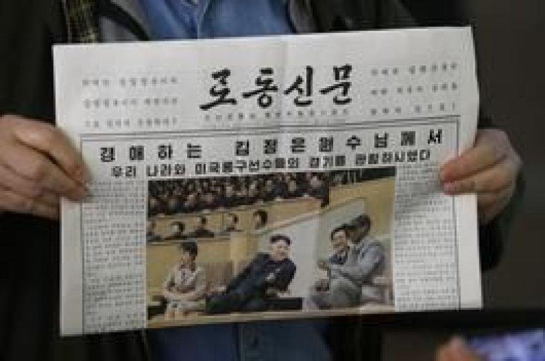 Rodman North Korea