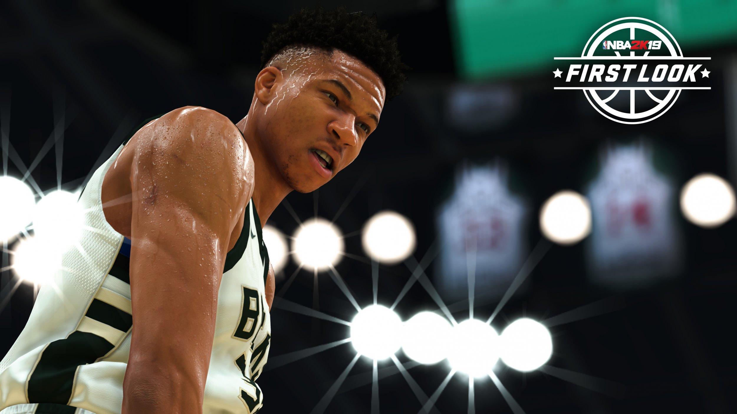 NBA 2K19 Giannis Antetokounmpo