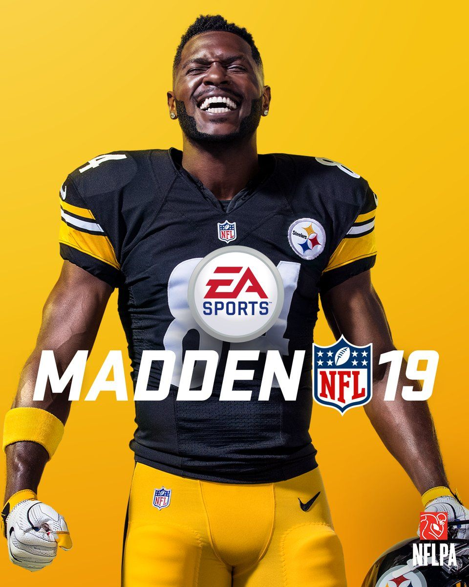 antonio brown madden nfl 19 cover