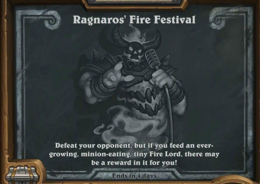 ragnaros fire festival