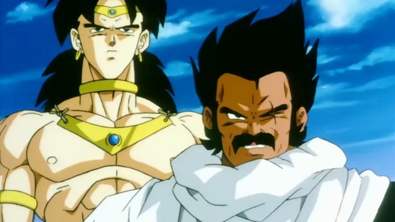 broly and paragus movie