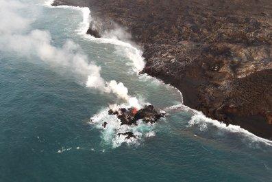 island of lava