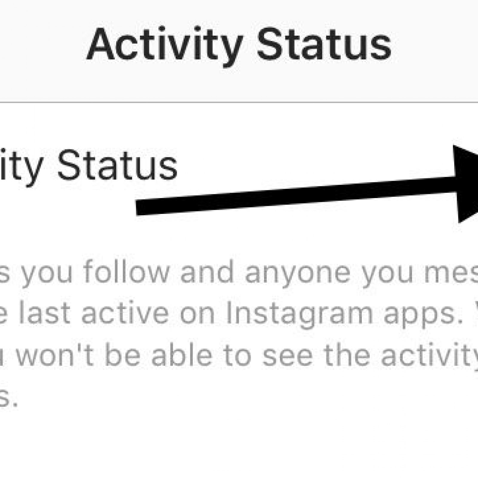 Instagram green dot activity status update how to turn it off on