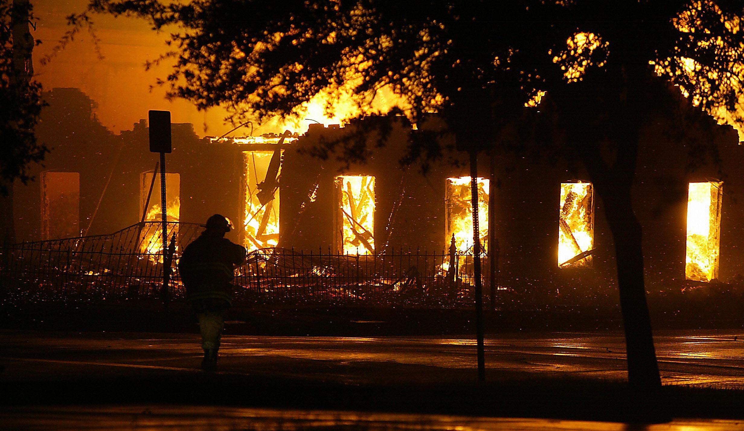 San Marcos Fire Apartment Blaze Damages Multiple
