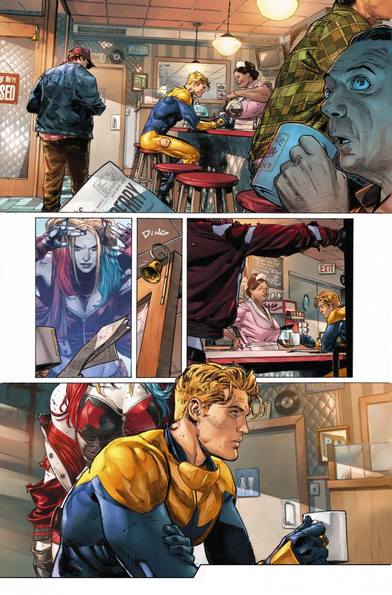 heroes in crisis pages dc comics tom king mitch gerads clay mann sdcc