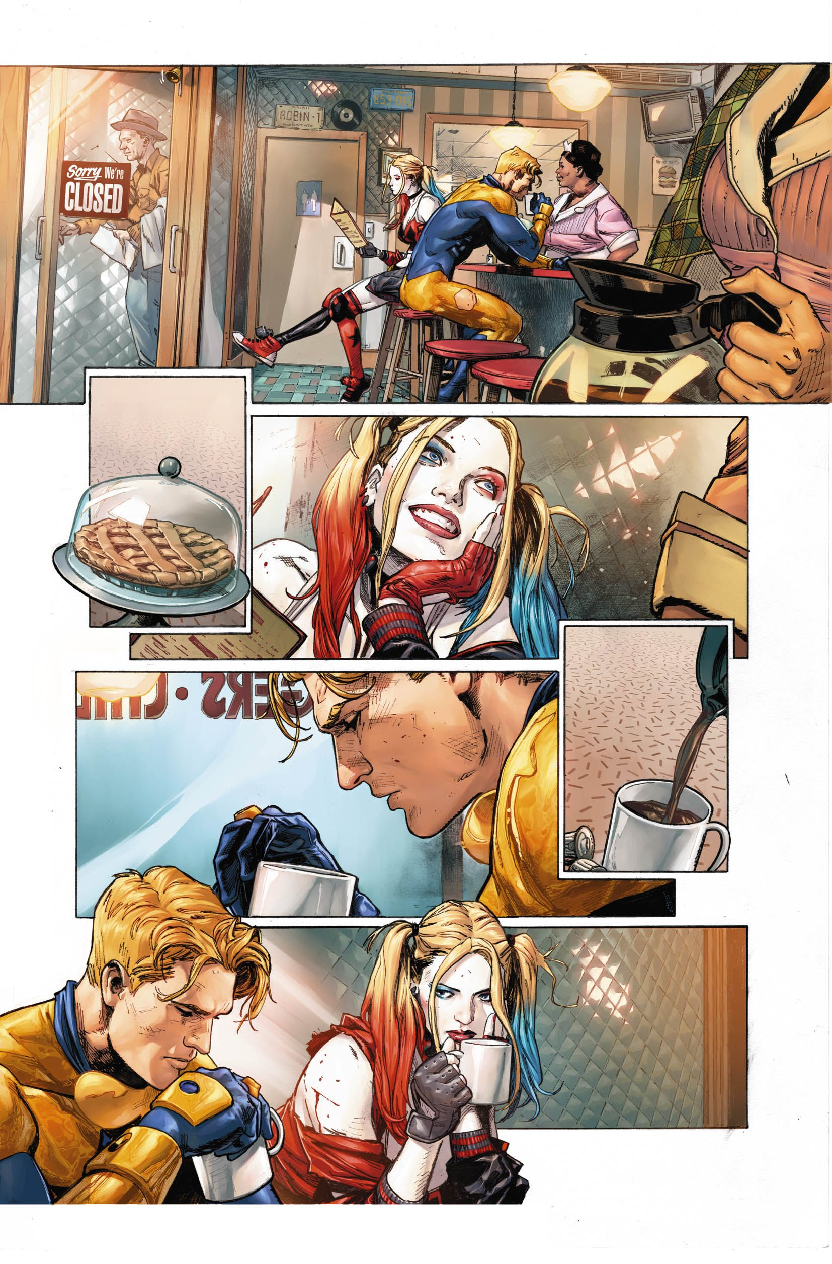 heroes in crisis frist look dc comics sdcc tom king mitch gerads clay mann