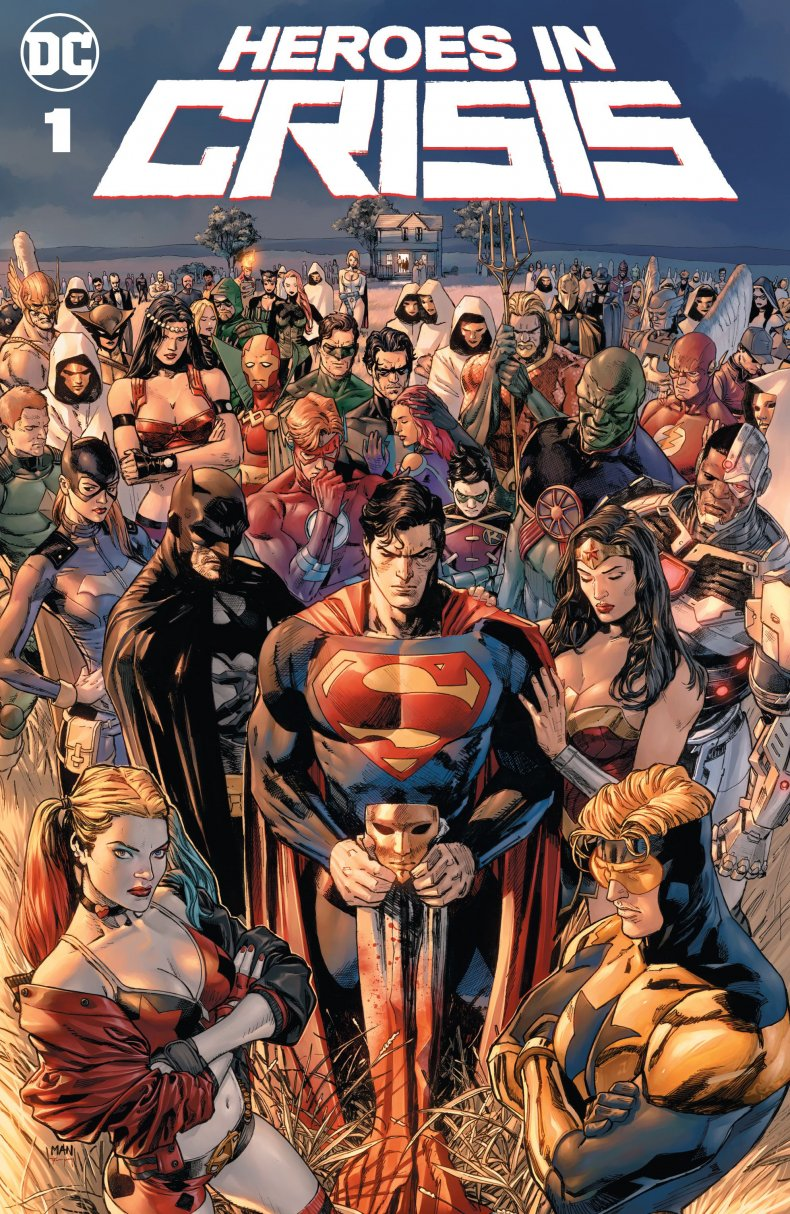 heroes in crisis cover tom king mitch gerads clay mann