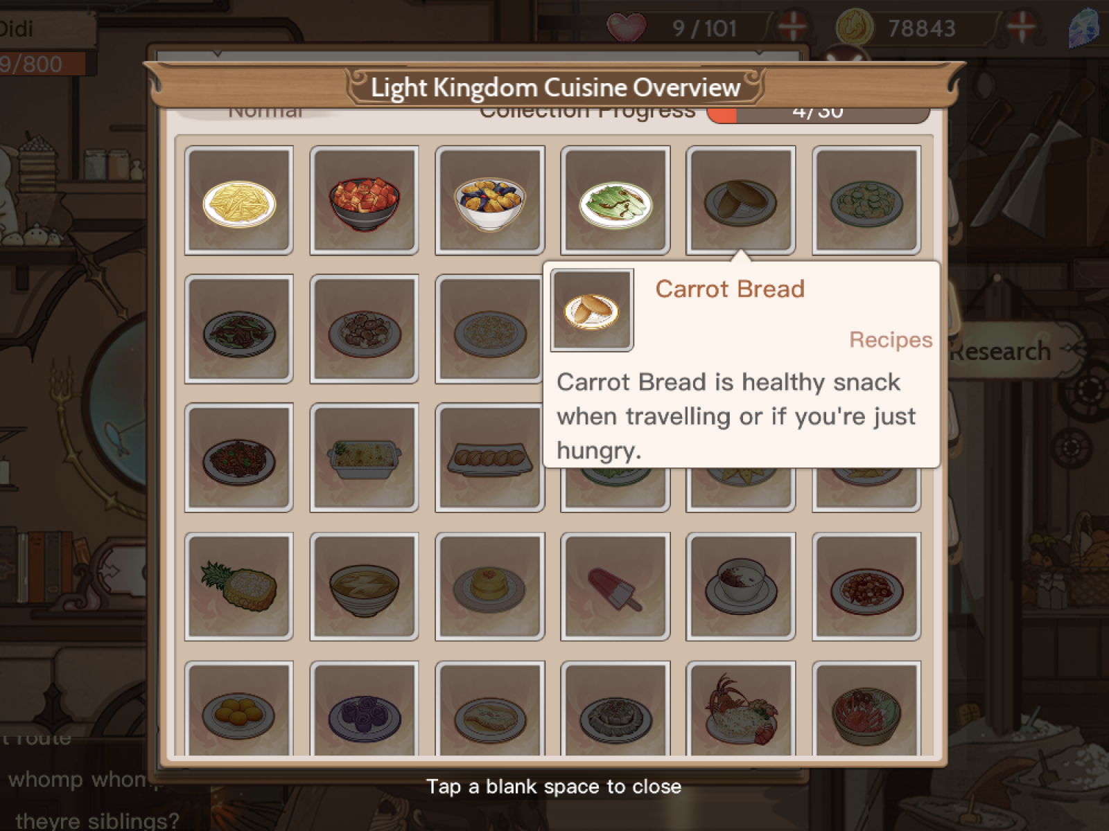 Food Fantasy' Recipes Guide: Complete List of Dishes and Tips for