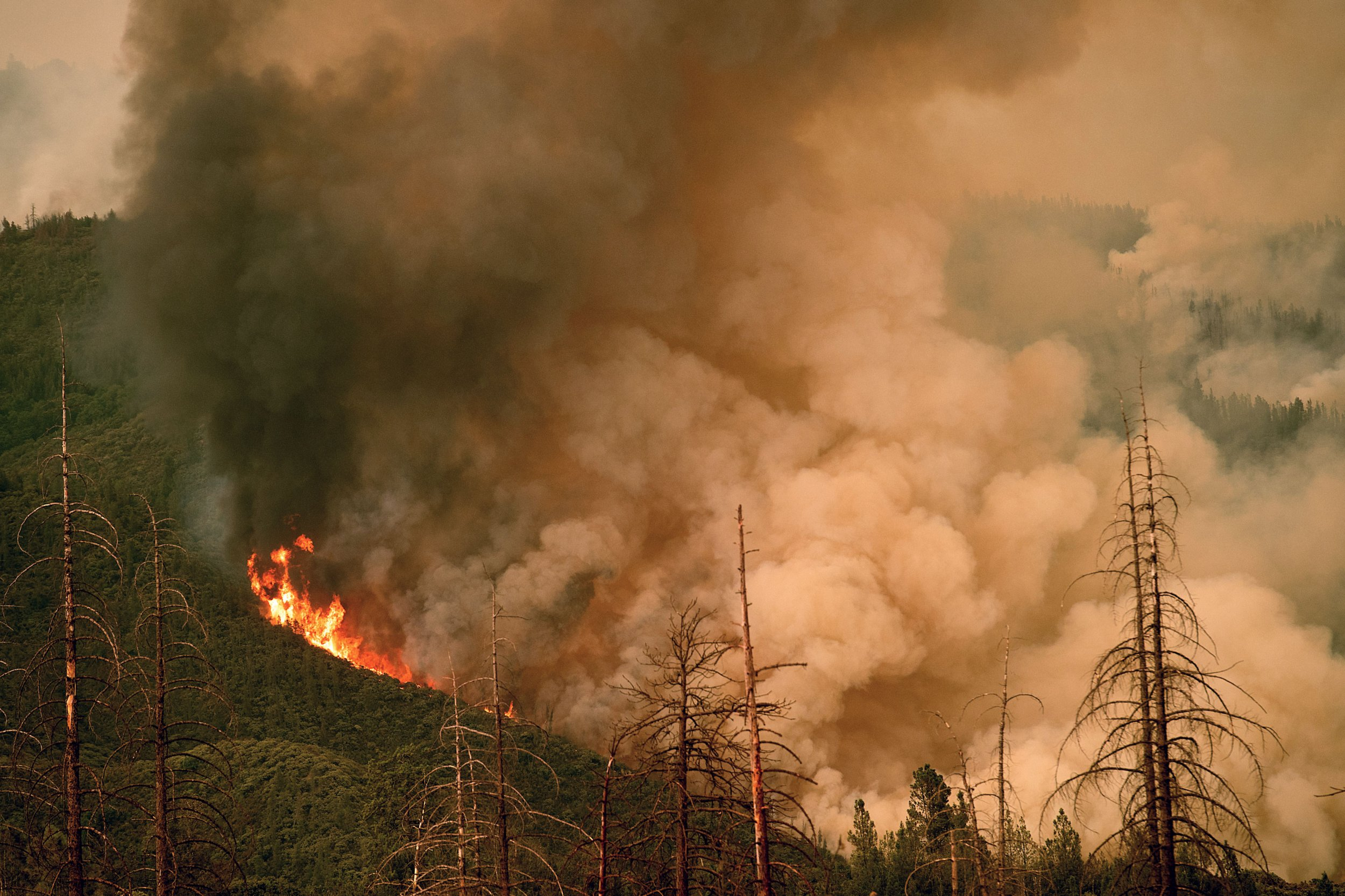 Wildfires 2018 Map Where The Ferguson Garner Complex And Other