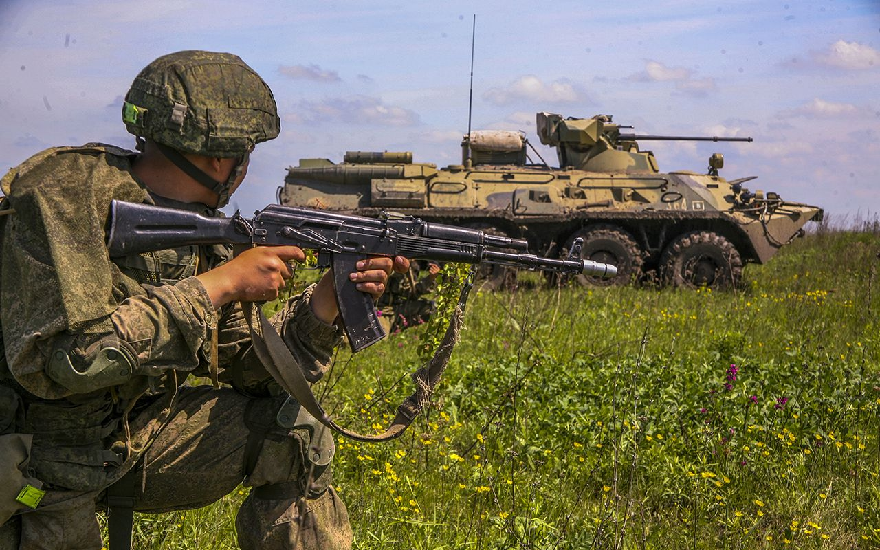 The Russian border troops are not the same as the Border Guard Troops of Russia And what is the difference
