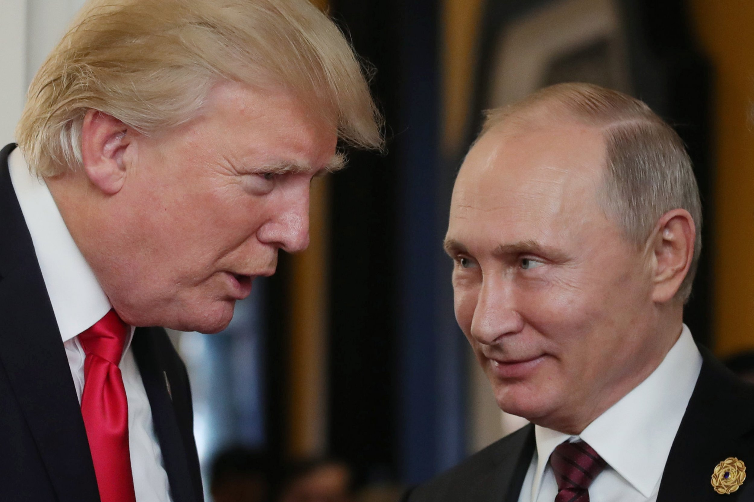 US President Donald Trump and Putin