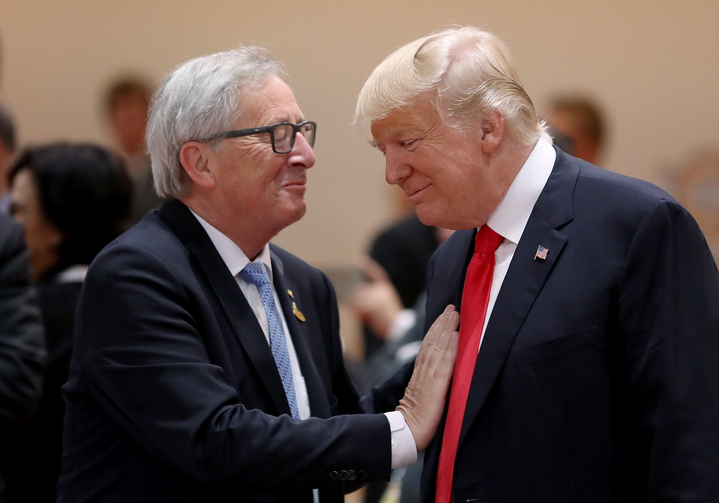 Jean Claude Juncker Trump