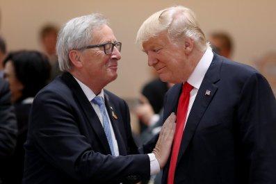 Jean Claude Juncker Trump