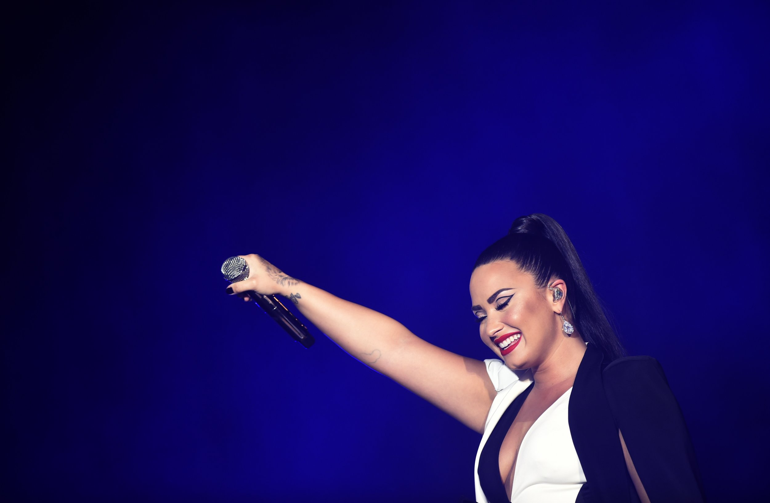 National Helpline Samhsa Substance Abuse And Mental Health >> Inspiring Demi Lovato Lyrics and Quotes From 'Skyscraper ...