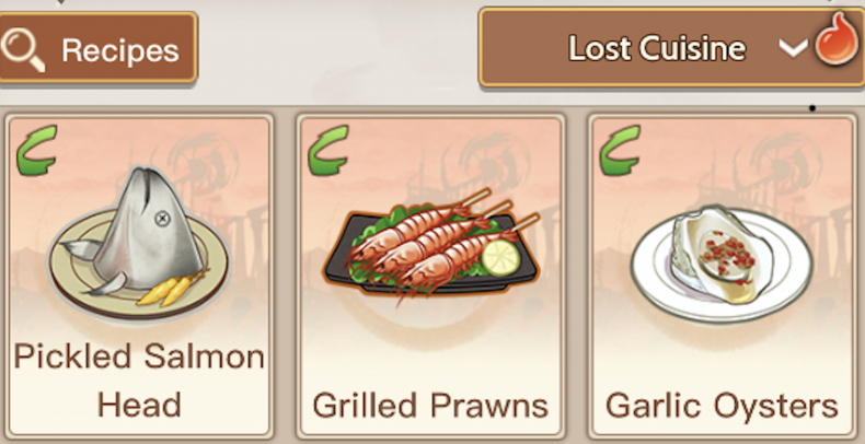 food, fantasy, lost, recipes, how, to, develop, complete, missions, unlock, guide