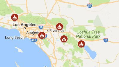 Fire Map California July 2018.Idyllwild California Fire Cranston Wildfire Rapidly Spreading