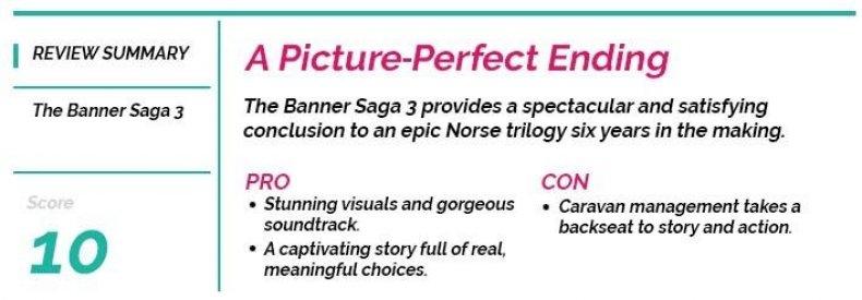 Banner Saga 3 Player