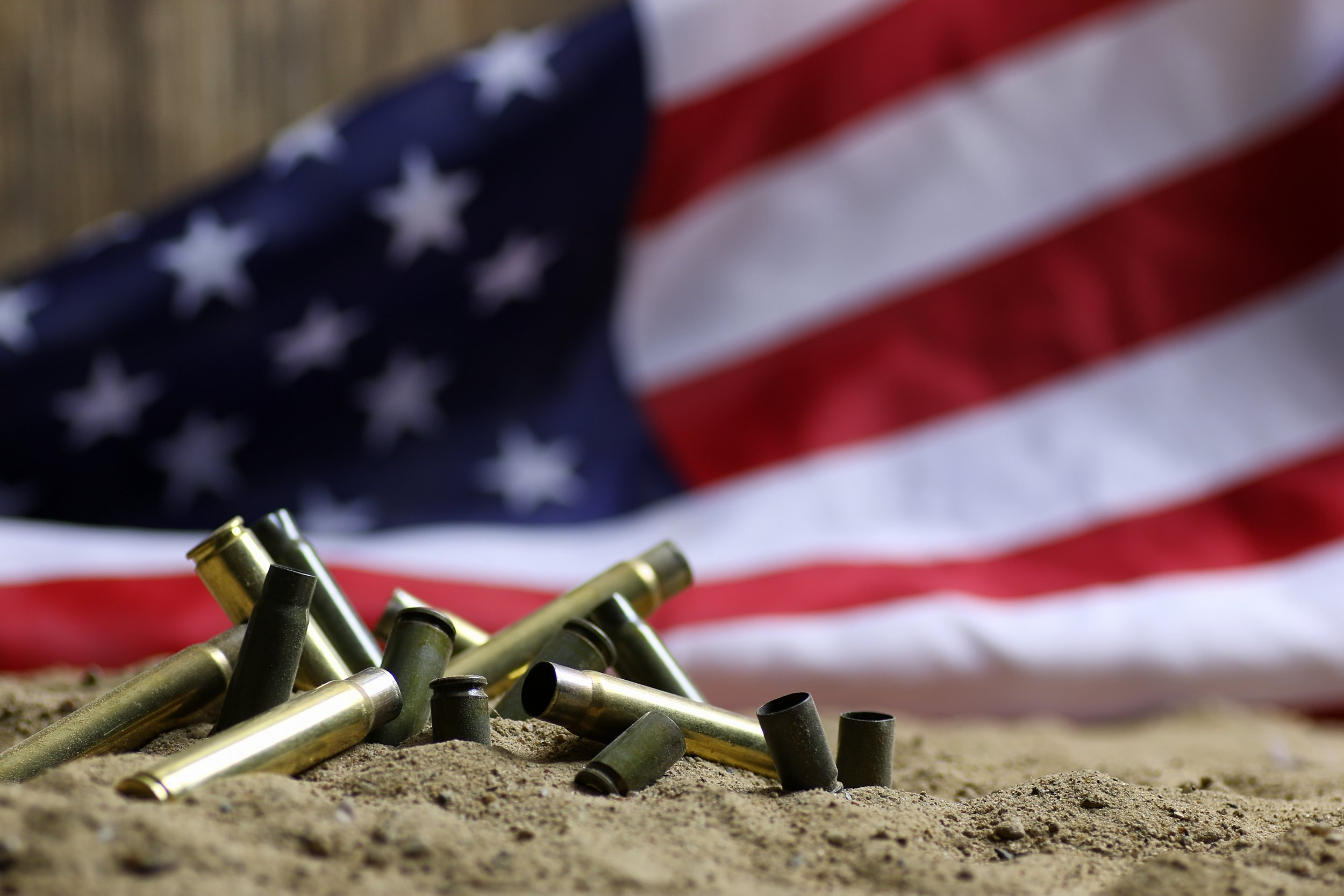 Flag and Bullets