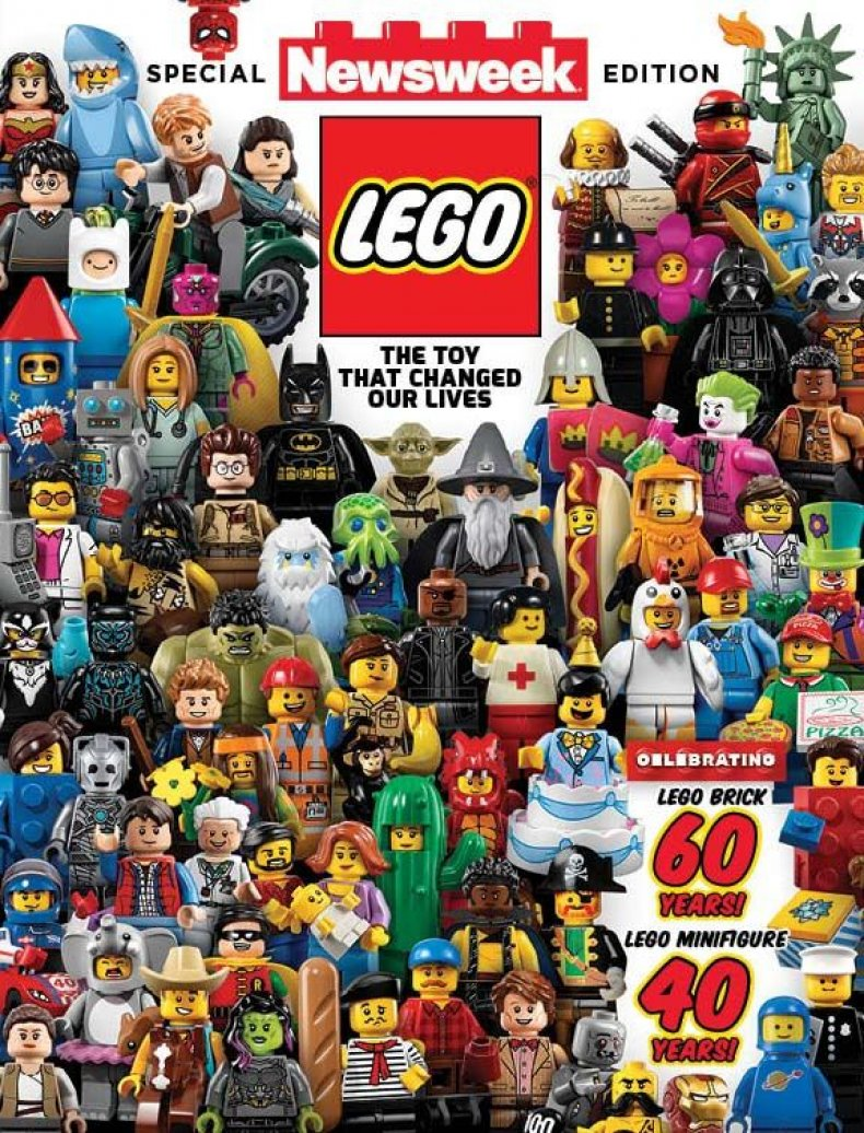 Newsweek Lego Final Cover