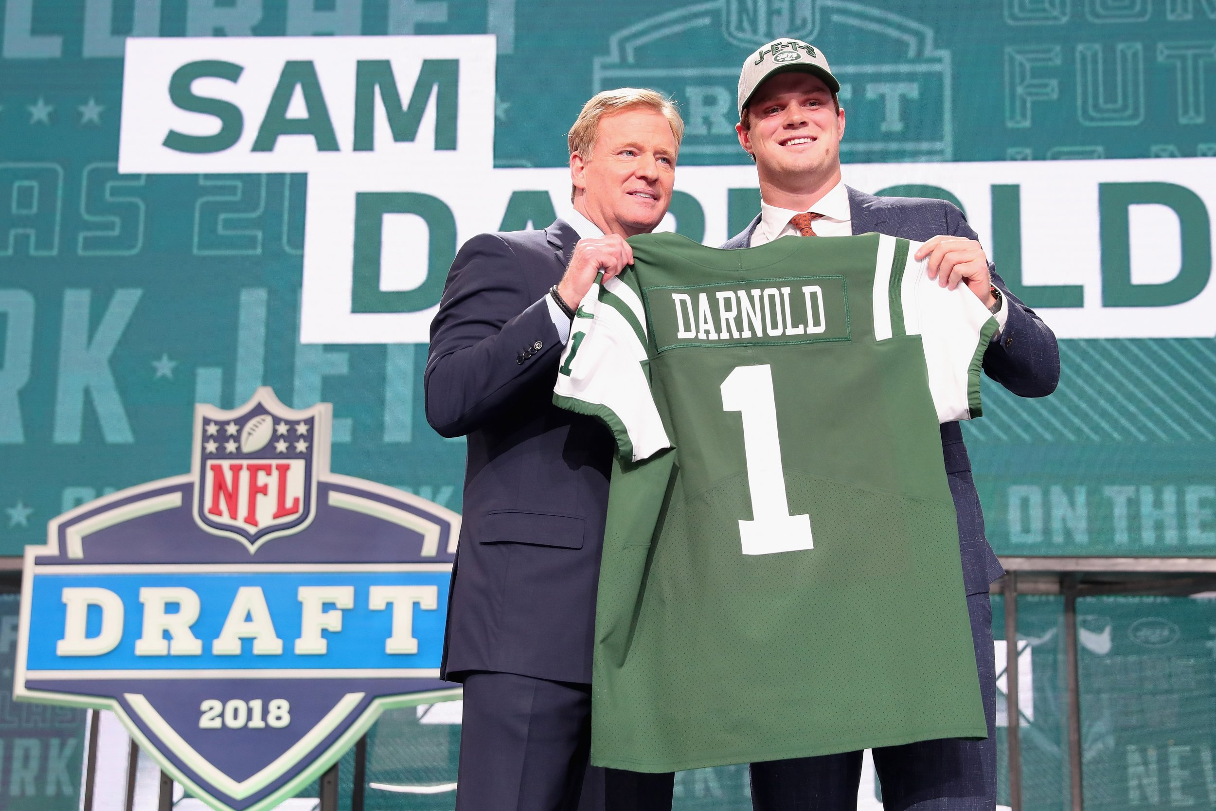 designer fashion 606bb dd3b7 Where Is Sam Darnold? NY Jets Rookie Misses Opening of ...
