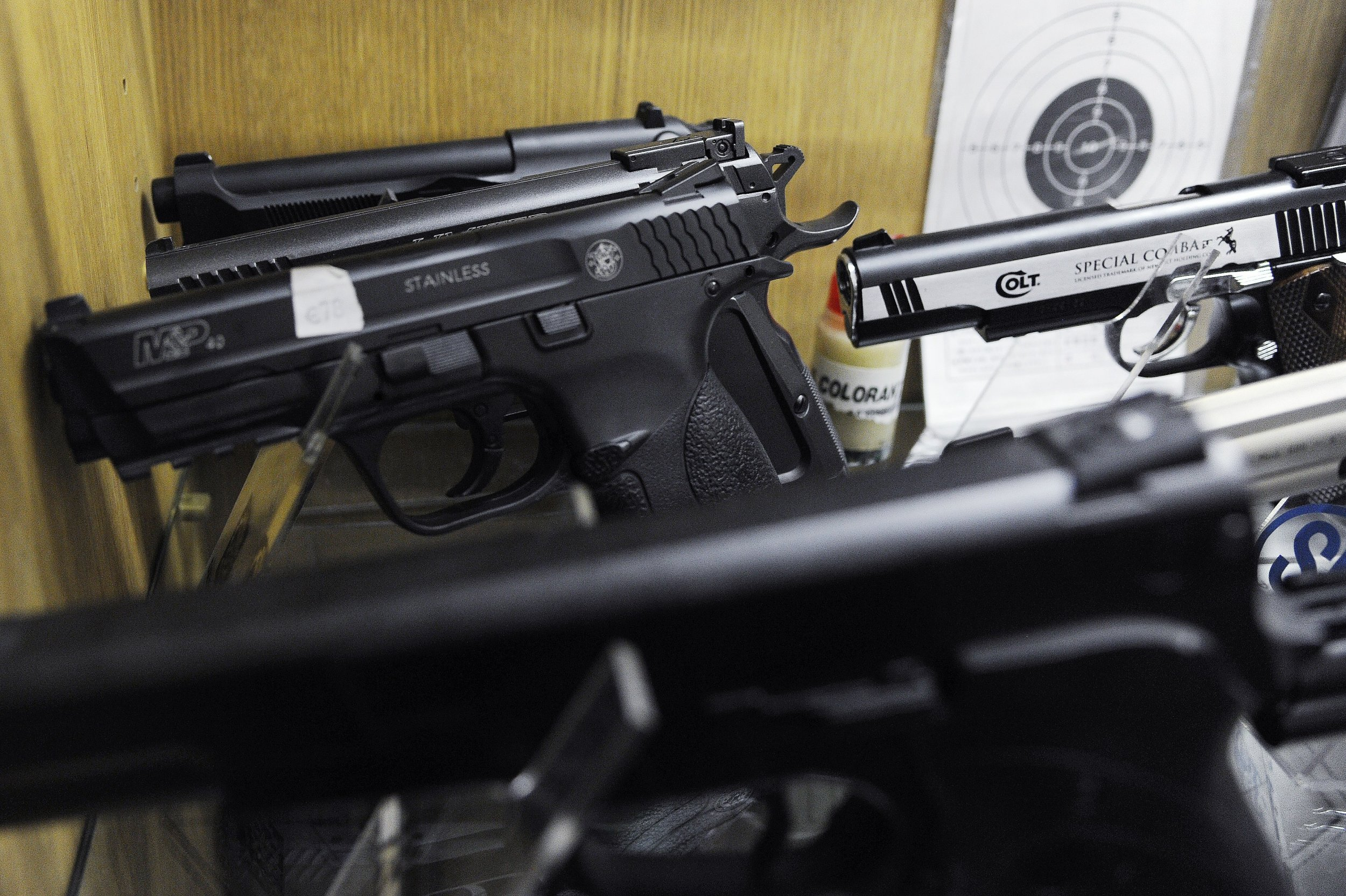 Man shot by police brandishing airsoft gun