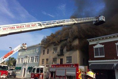 Daytona Beach Bayview Hotel Fire