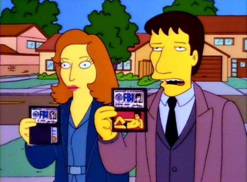 x-files-simpsons-fox-disney