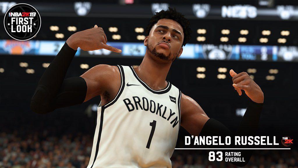 11dee6cf9470 NBA 2K19  Player Ratings List  LeBron James