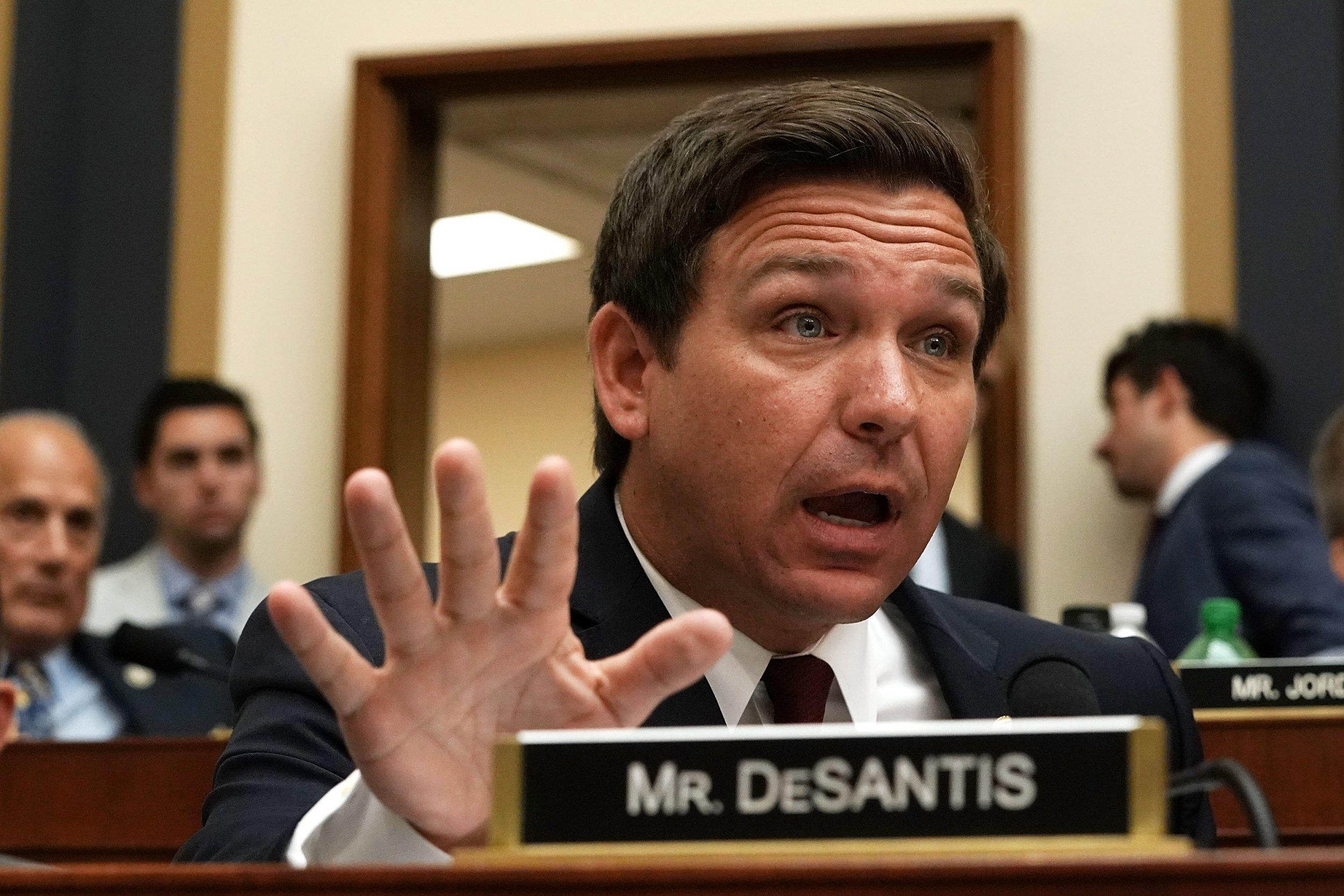 Florida governor candidate ron DeSantis