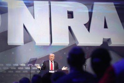 Donald Trump, NRA, 3D-printed guns