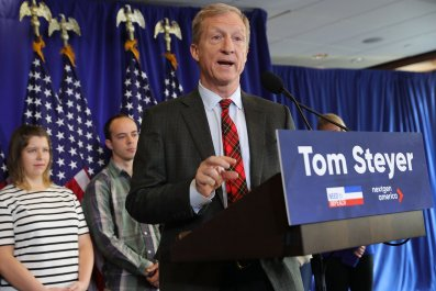 Tom Steyer, Trump impeachment, midterms