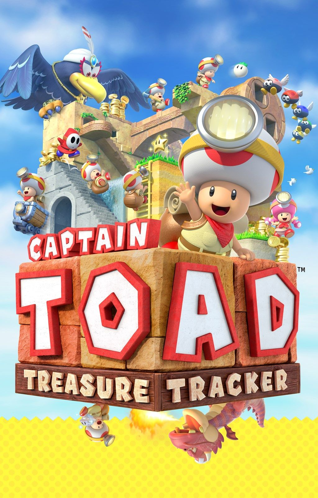 captain toad treasure tracker box art