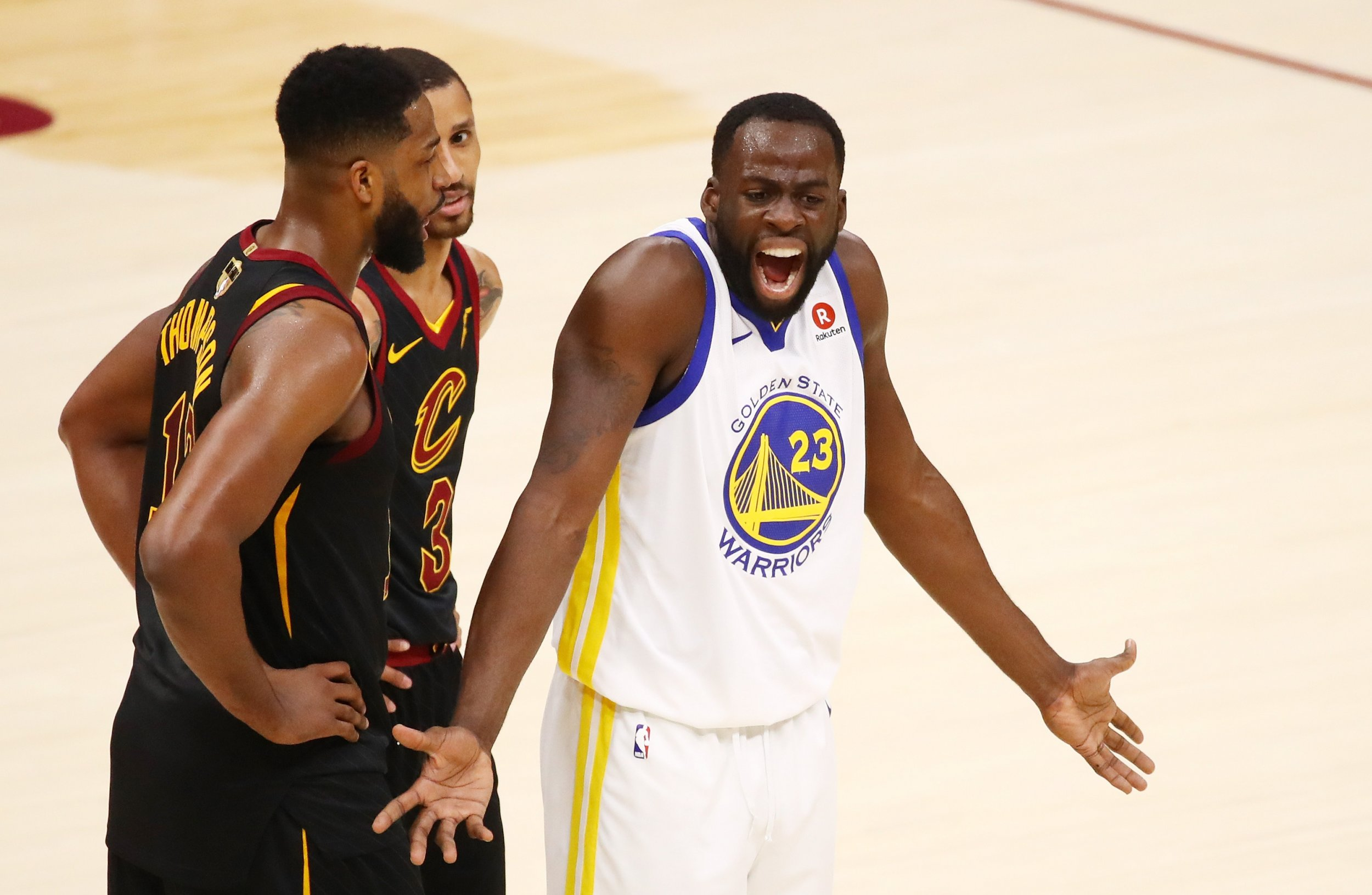c8f26adfc7e Tristan Thompson Punched Draymond Green in L.A. Nightclub after ESPY Awards