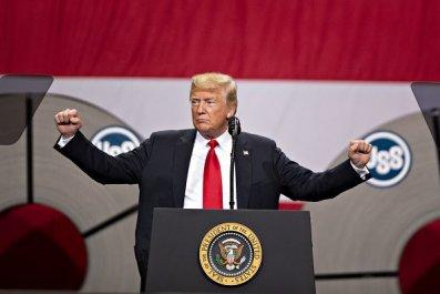 Donald Trump false claims economy, jobs