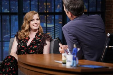 Amy Adams Sharp Objects Seth Meyers