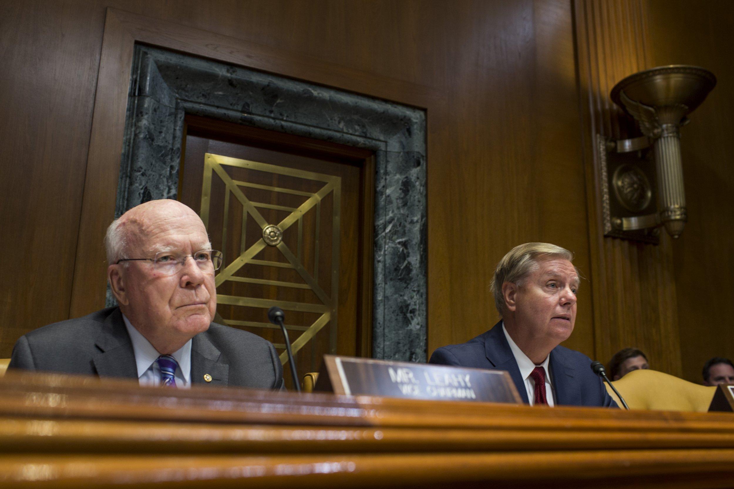 Republicans reject Senator Patrick Leahy's election security measure