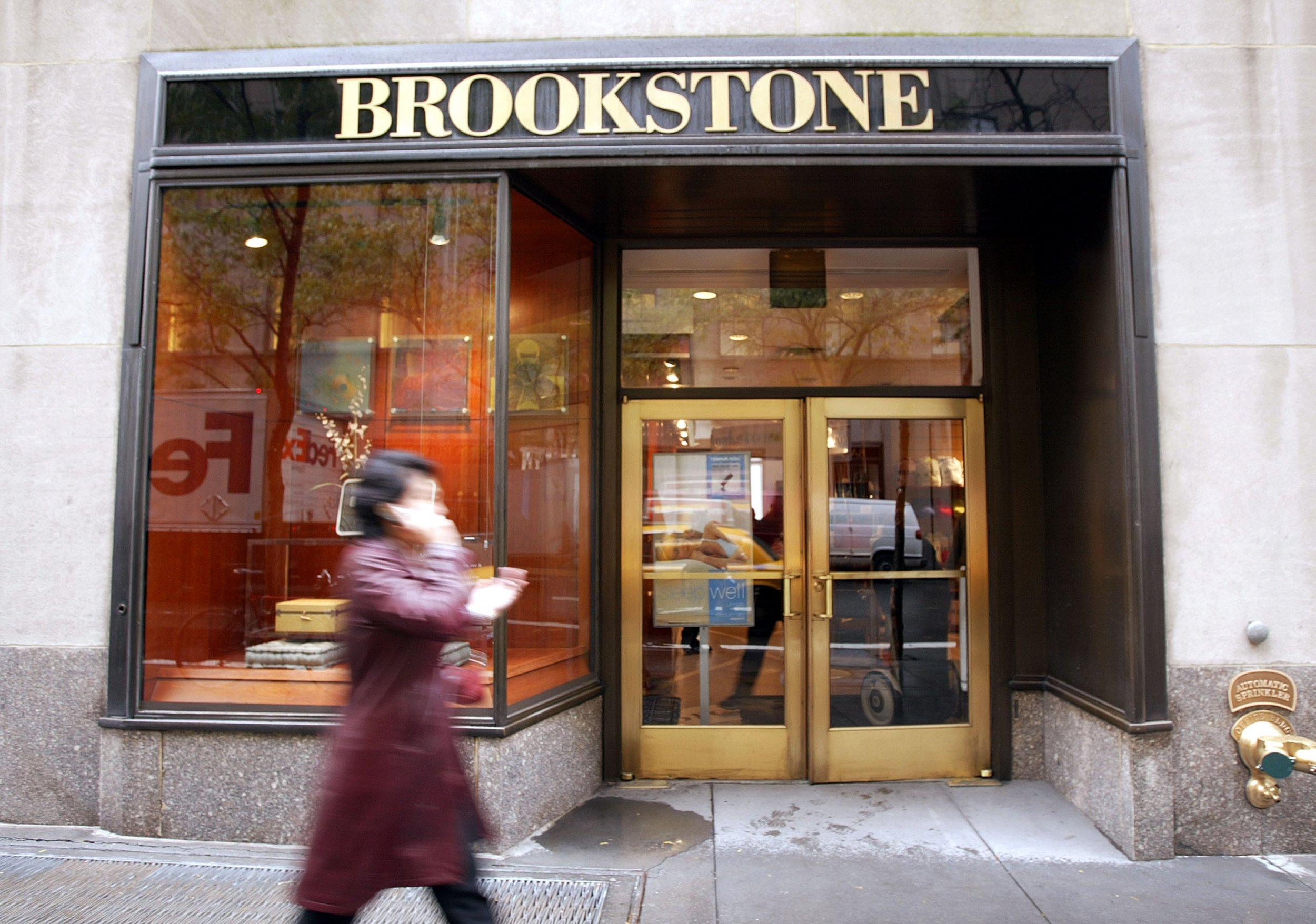 Brookstone Files Bankruptcy