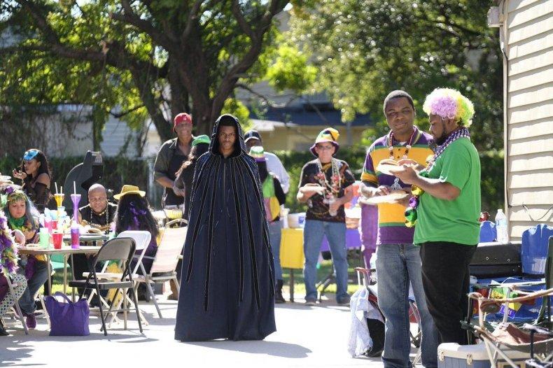 cloak and dagger mardi gras indian voodoo