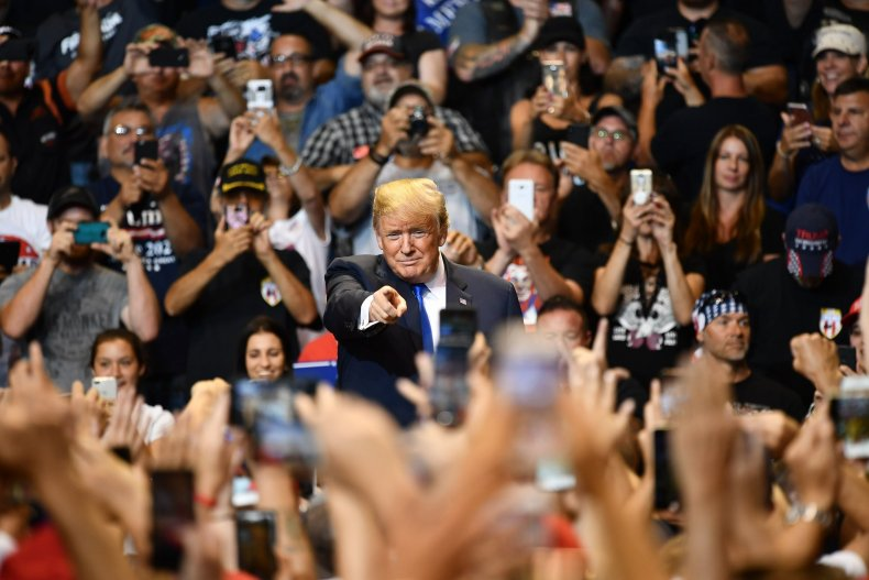 "Donald Trump ""lock her up"" Hillary Clinton"