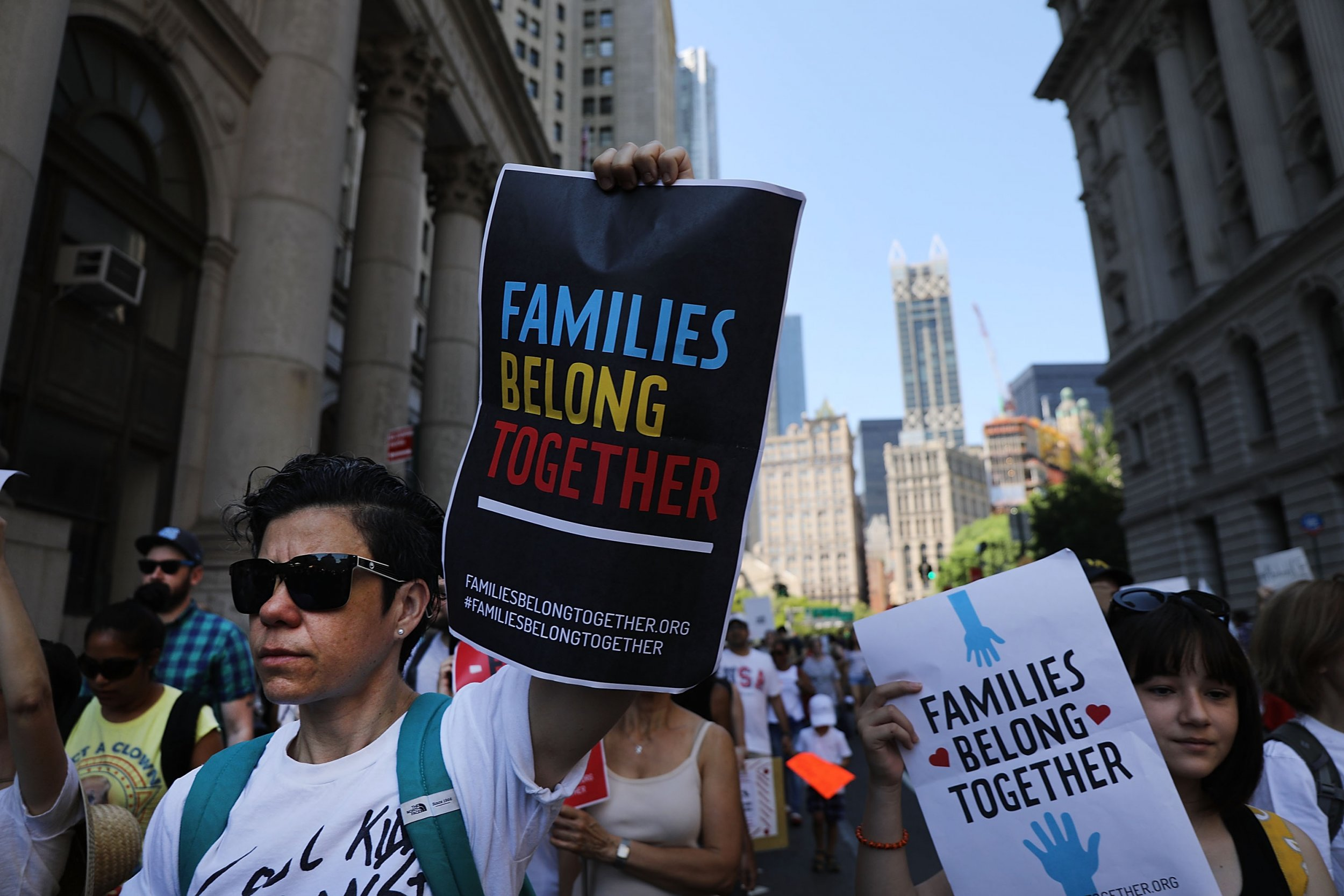 Trump admin says ACLU should find deported parents
