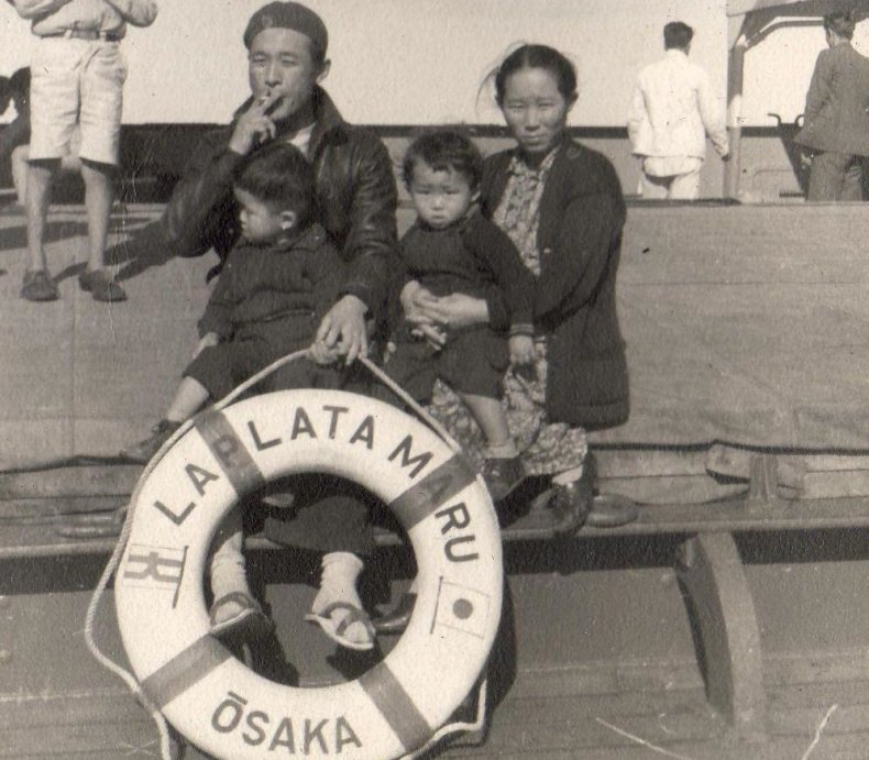 8_3_Kakita Family going to Hiroshima 1940