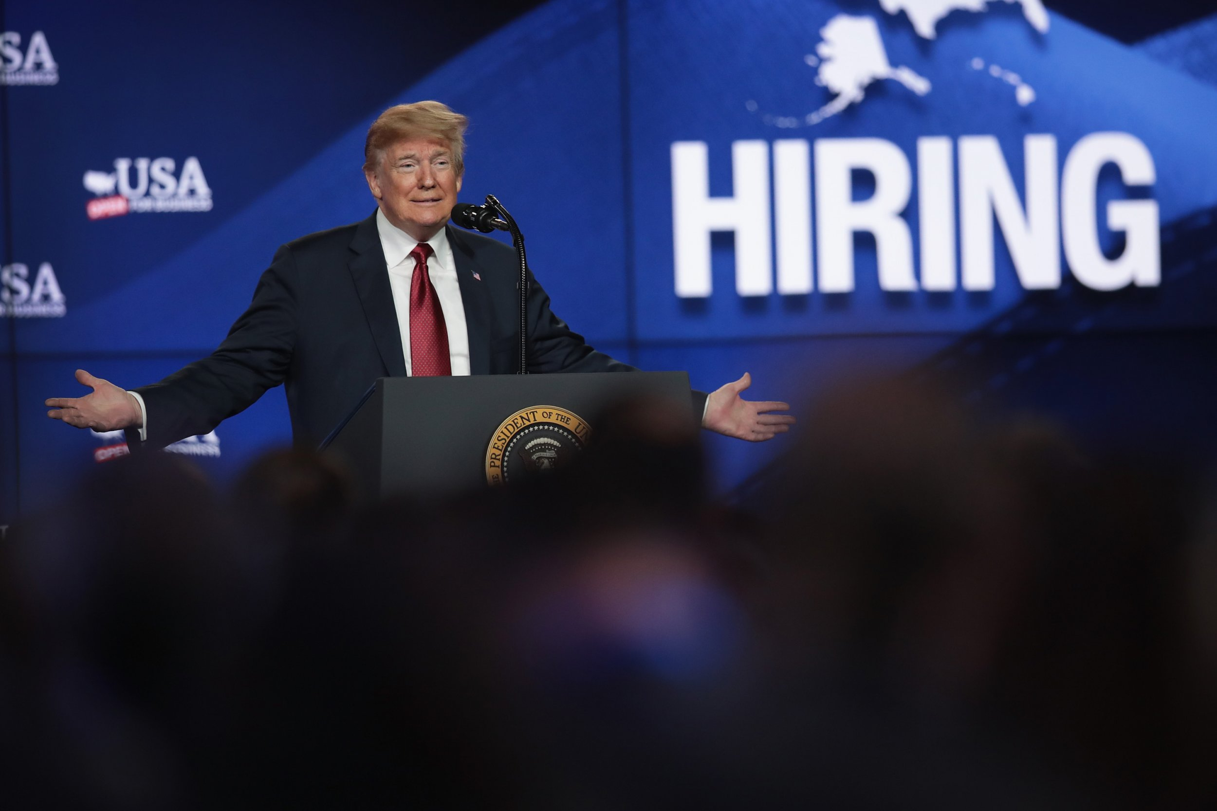 Donald Trump tax plan wage growth