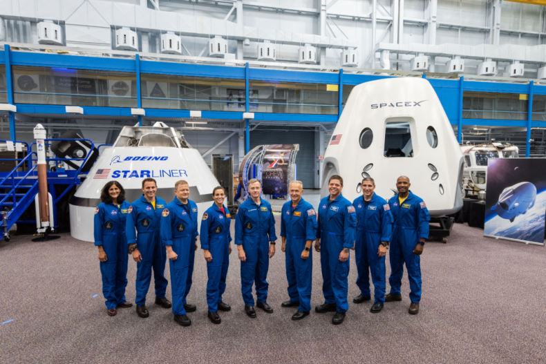 NASA announces astronauts for first space flight in 7 years