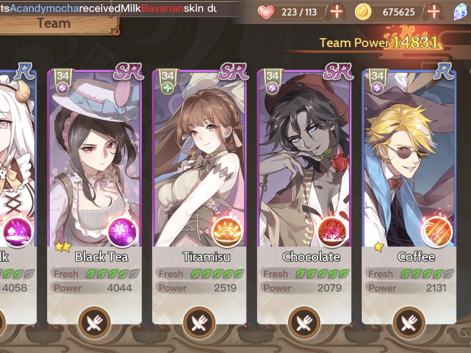 Food Fantasy' Combos: Complete List of Food Souls With