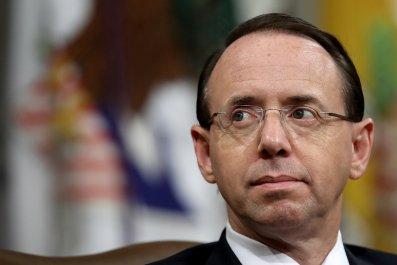 Rod Rosenstein impeachment Donald Trump